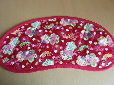 Bobbin Lace Pillow Pad for Continental Bobbins - Red Japanese design