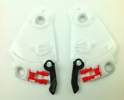 Arai White SAL-2 Base Plate For Axces | Condor | Quantum F | Chaser | RV Helmets