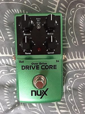 Nux Drive Core Overdrive / Boost / Distortion Guitar Effects Pedal, In Uk