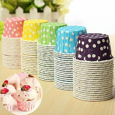 20 x Colorful Cupcake Liner Muffin Candy Snack Greaseproof Dessert Baking Cups