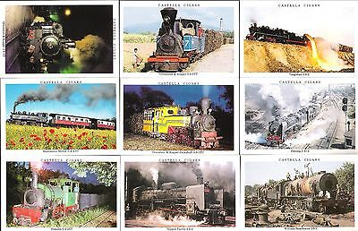 1992,wd&ho Wills-Castella,in Search Of Steam,full Set Of 30 Cards