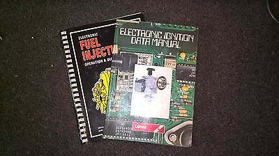 Lucas Electronic Ignition Manual And A Early Fuel Injection Diagnosis Book
