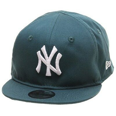 New Era Cap. New Era Kids Cap. MLB League Infant Snapback NY Yankees Pine Green