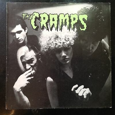 "The Cramps Fever / Garbageman Original 7"" Picture Sleeve Only EX+ Punk"