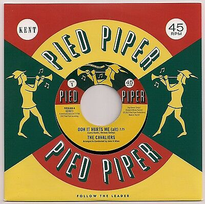 "Northern Soul 7"" 45 The Cavaliers Ooh It Hurts Me / Willie Kendrick Pied Piper"