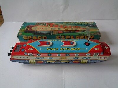 Vintage Nomura Space Explorer Train with Box (friction)