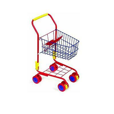 Childrens Shopping Trolley Toy Pretend & Play New