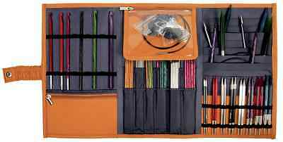 Knit Pro Danube Assorted knitting needle case in faux leather