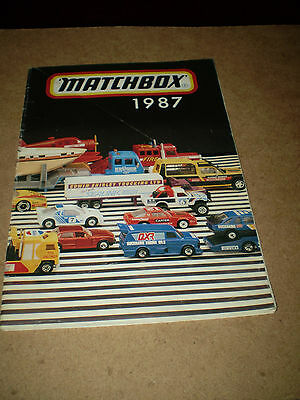 Large German Matchbox Toy Catalogue 1987 Edition Near Excellent Condition