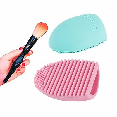 Cleaning MakeUp Washing--YILON Cosmetic Makeup Brush Finger Glove Silicone Board