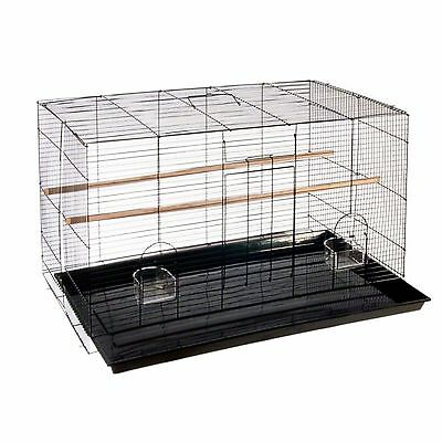 Finca Pequeno Metal Bird Cage Small Birds Canaries Finches Budgies Aviary Canary
