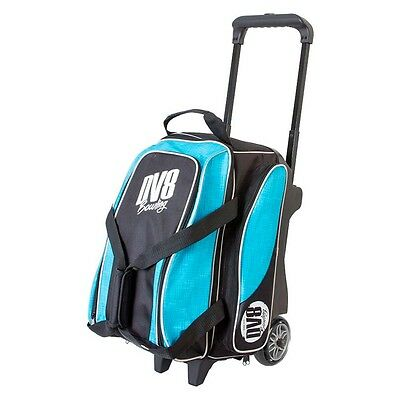 DV8 Circuit double roller bowling bag Teal