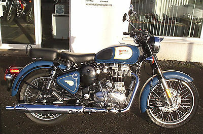 Royal Enfield Classic 500 EFI ABS model 2017 New and unregistered