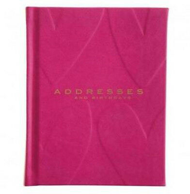 Caroline Gardner Leatherette Address and Birthday Book - Useful gift idea women