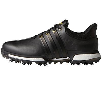 *new* Adidas Mens Tour 360 Boost Wd Shoes Black - Size 9