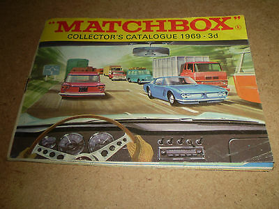 Matchbox Toy Catalogue 1969 Uk Edition V Good Condition For Age
