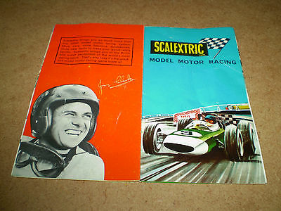 Scalextric Slot Car Toy Catalogue 1966 Edition Near Excellent For Age