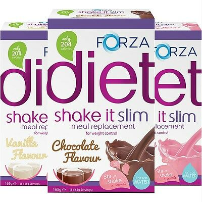 FORZA Shake It Slim Meal Replacement Shake - Meal Replacement