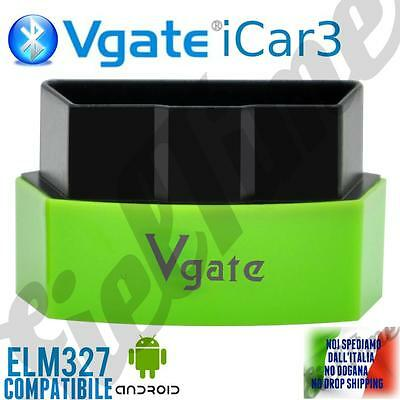 OBD2 OBDII Vgate iCar3 ELM BLUETOOTH 327 SCANNER DIAGNOSTICA ANDROID TORQUE