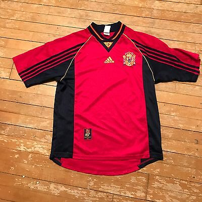 Spain football shirt Vintage World Cup 1998 Size M