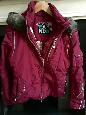 Ladies E & O Ski Jacket size 10