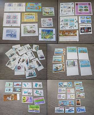 SHIPS AND BOATS  NICE INTERNATIONAL COLLECTION MNH** °il5/bf937
