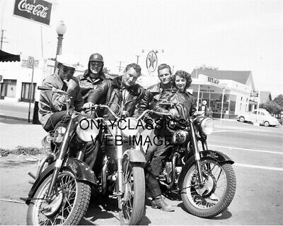 1947 Sharks Motorcycle Club Hollister Ca Photo Takeover Town Beers Girls Bikes