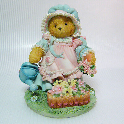 """Cherished Teddies """"MARY MARY QUITE CONTRARY"""" Friendship Blooms 1993 Enesco"""