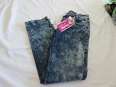 Justice Girls Skinny Jeans - Size 10R - NEW