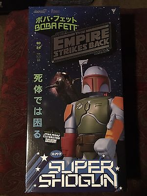 Star Wars Celebration Ex. Super Shogun Warriors BOBA FETT Kenner Jumbo Machinder