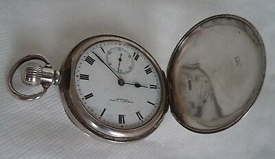 Antique 1923 Sterling / Solid Silver Pocket Watch - Not Working