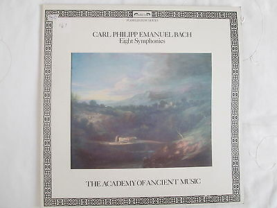 DSLO 557-8 C P E Bach Eight Symphonies, Academy of Ancient Music / C Hogwood