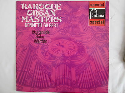 SFL 14127 / 700 430 WGY BAroque Organ Masters / Kenneth Gilbert