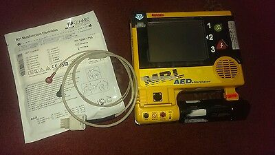 MRL AED20 AED with Pads Rechargeable Battery and Charger