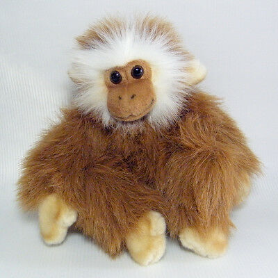 Hansa Sitting Monkey #2840 Tan with Blonde Hands and Feet