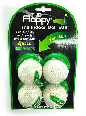 The Floppy Indoor Practice Golf Balls (4pk)