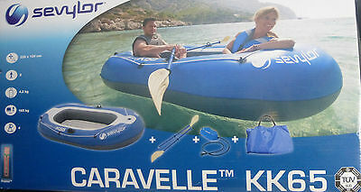 Sevylor CARAVELLE KK65 2 person inflatable dinghy Kayak New