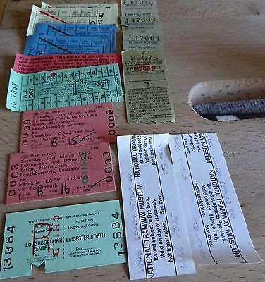 A Good Lot Of Vintage Used Tickets