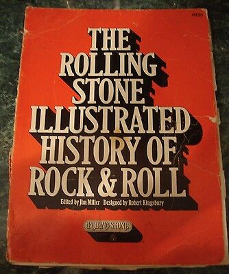 THE ROLLING STONE ILLUSTRATED HISTORY OF ROCK & ROLL vintage 1976