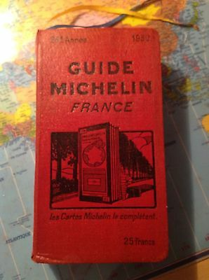Tres Beau guide rouge  Michelin 1930