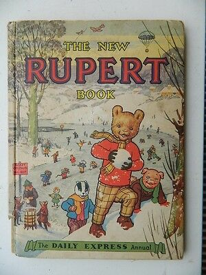 RUPERT  ANNUAL  1951  (  Price  Unclipped   4/9  )