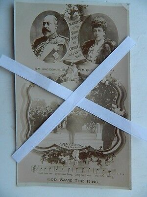 MEMENTO  Of   The  ROYAL  VISIT   TO  CARDIFF  July 13th.    1907   Postcard