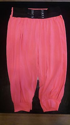 Cropped Trousers Pink New No Tags Size M/l (12)