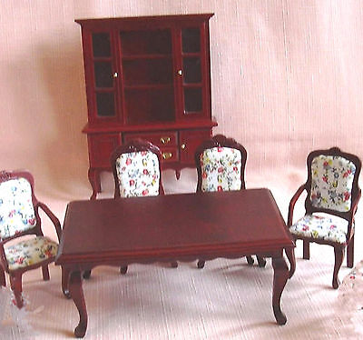 6 PIECE DINING ROOM SUITE  MAHOGANY FINISH 12th 12th