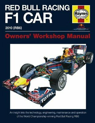 Red Bull Racing F1 Car Manual: An Insight into the T... by Steve Rendle Hardback