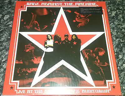 Rage Against the Machine. Live at the Grand Olympic Auditorium. LP, sealed.