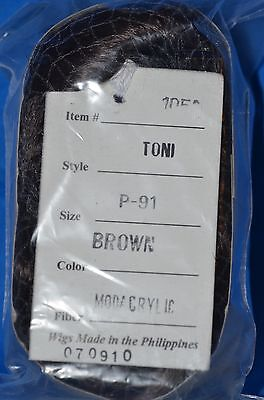 Toni Doll Wig P-91 Brown NEW