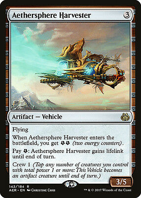 Aethersphere Harvester - MTG Aether Revolt - Near Mint English