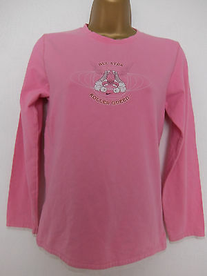 NIKE ● size 8 ● pink long sleeve sporty top womens ladies