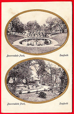 Postcard - SEAFORTH Liverpool - BOWERSDALE PARK - Early Valentine's - GOOD